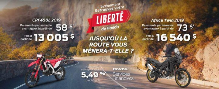 Honda – Retrouvez votre liberté