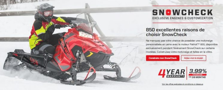 Promotion – Polaris Snowcheck 2020