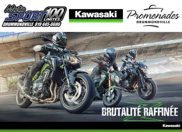 EXPOSITION MOTOS KAWASAKI PROMENADES DE DRUMMONDVILLE