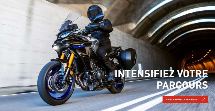 Nouvelle Yamaha Tracer 9 GT 2021