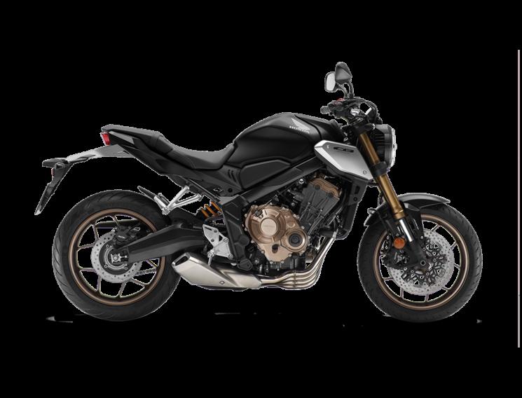 Honda CB650R Noir Mat 2021