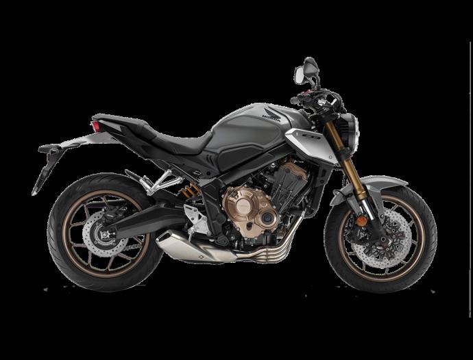 Honda CB650R Gris cendré nacré 2021