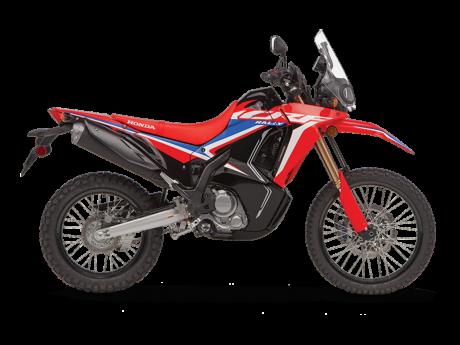 Honda CRF300L RALLY Rouge extrême 2021
