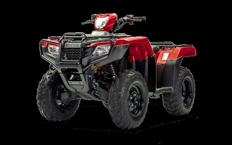 Honda Foreman 520 Rouge patriote 2021
