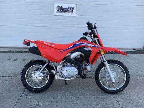 Honda CRF110F Rouge extrême 2022