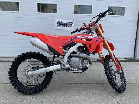 Honda CRF450R Rouge extrême 2022