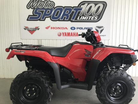 Honda Rubicon 520 DCT IRS EPS Rouge patriote 2022